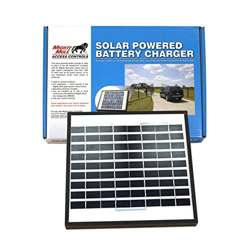 10-Watt-Solar-Panel-Kit-FM123-for-Mighty-Mule-Automatic-Gate-Openers-0-0