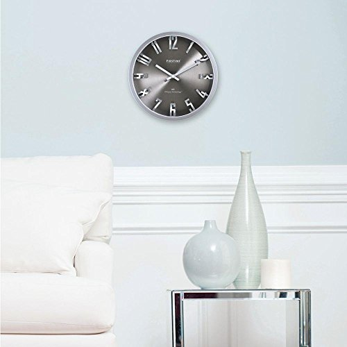10-in-H-Steel-Dimension-Wall-Clock-0-0