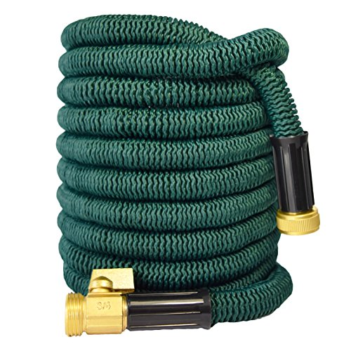 100-FT-Strongest-Expandable-Garden-Hose-Wont-Leak-Wont-Burst-Strong-Brass-Connectors-Not-Plastic-100-Customer-Satisfaction-Warranty-Golden-Spearhead-0