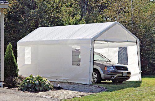 10×20-foot-Instant-Garage-Shelter-White-0