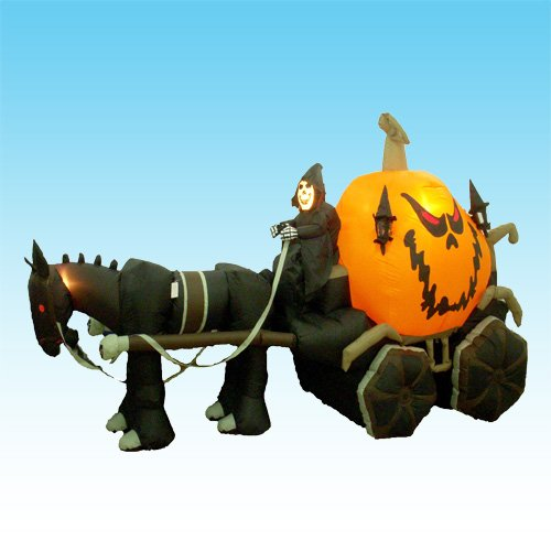 115-Foot-Long-Inflatable-Grim-Reaper-Driving-Pumpkin-Carriage-0