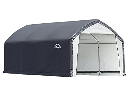 12x15x9-Accela-Frame-HD-Shelter-Gray-Cover-0