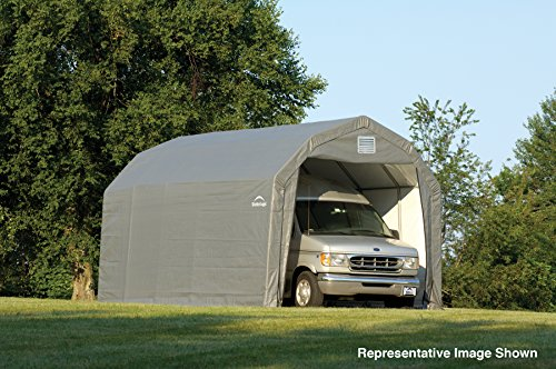 12x24x11-Barn-Shelter-Gray-Cover-0-0