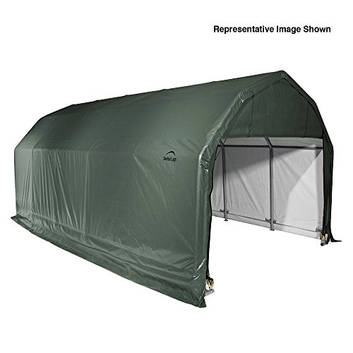 12x28x11-Barn-Shelter-Green-Cover-0