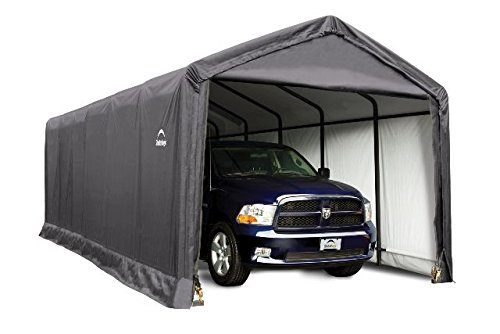 12x30x11-Shelter-Tube-Storage-Shelter-GrayCover-0-0