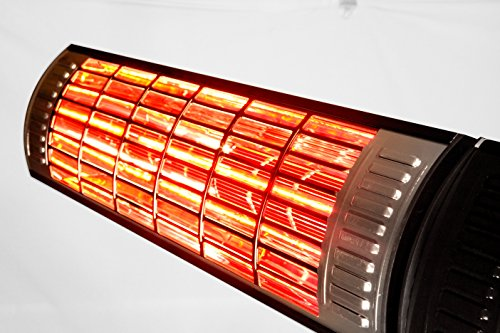 1500 Watt Infrared Heater Remote Controlled Patio Heater