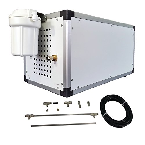 High Pressure Misting Systems : Psi stainless steel mist kit high pressure misting