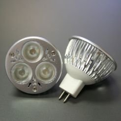 2-PACK-LED-MR16-3W-High-Power-Warm-White-60-Bulb-0
