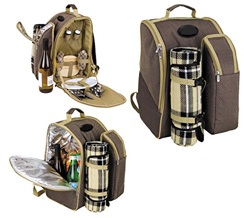 2-Person-Picnic-Backpackwith-insulated-cooler-storage-compartments-Accessories-and-blanket-included-0