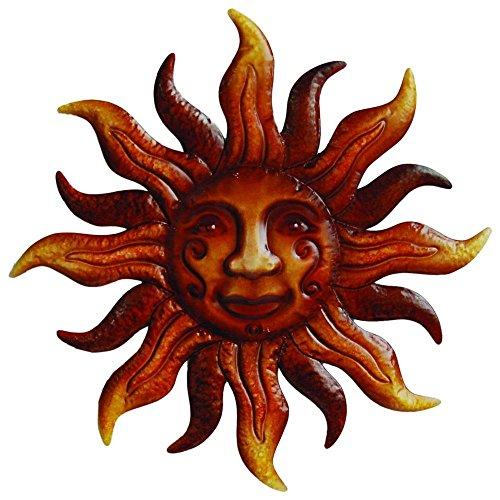 20-Dia-Metal-Bronze-Sunface-Wall-Art-0