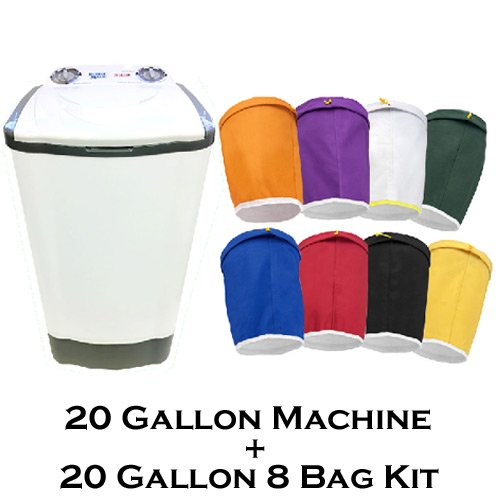 20-Gallon-Bubble-Magic-Washing-Machine-GRO1-Ice-Hash-Extraction-5-Bags-Kit-0