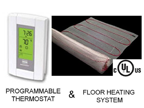 20-Sqft-Mat-Electric-Radiant-Floor-Heat-Heating-System-with-Aube-Digital-Floor-Sensing-Thermostat-0