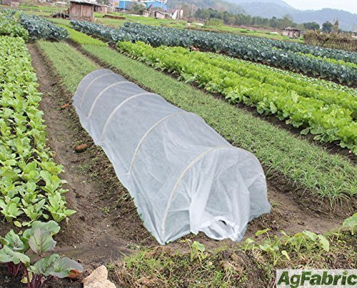 20FT-Long-Agfabric-Grow-TunnelMini-GreenhouseHoophouse-Tunnel-Kits-09oz-Row-Cover-and-Tunnel-Hoops-0
