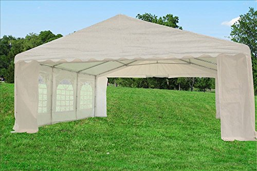 20 X20 Pe Tent White Heavy Duty Wedding Party Tent