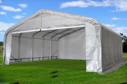 20 X22 Carport Grey White Waterproof Storage Canopy