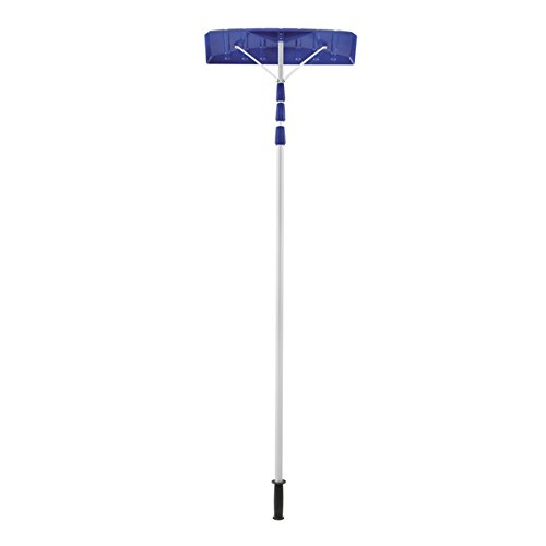 21-ft-Twist-n-Lock-Telescoping-Snow-Shovel-Roof-Rake-comes-with-Oversized-poly-blade-rake-head-0