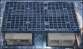 24 X 36 Heavy Duty Fountain Basin Grate For Water