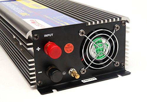24V-MicroSolar-1000W-Peak-2000W-Pure-Sine-Wave-Inverter-with-Remote-Wire-Controller-with-2-Foot-Battery-Cable-0-1