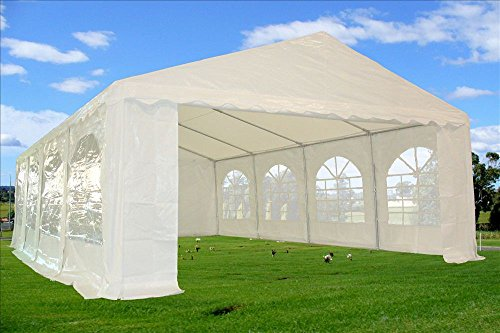 26×16-PE-Tent-White-Heavy-Duty-Wedding-Party-Canopy-Carport-PE-DELTA-Canopies-0