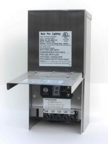300-Watt-Multi-Tap-Stainless-Steel-Transformer-0