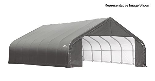 30x28x16-Peak-Style-Shelter-Gray-Cover-0-0
