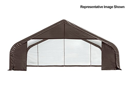 30x28x16-Peak-Style-Shelter-Gray-Cover-0-1