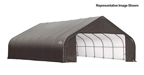 30x28x16-Peak-Style-Shelter-Gray-Cover-0