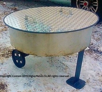 36-Aluminum-Fire-Pit-Cover-Campfire-Ring-Top-Lid-0-0