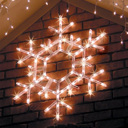 36-LED-Folding-Twinkle-Snowflake-Christmas-Decoration-Cool-White-Lights-0