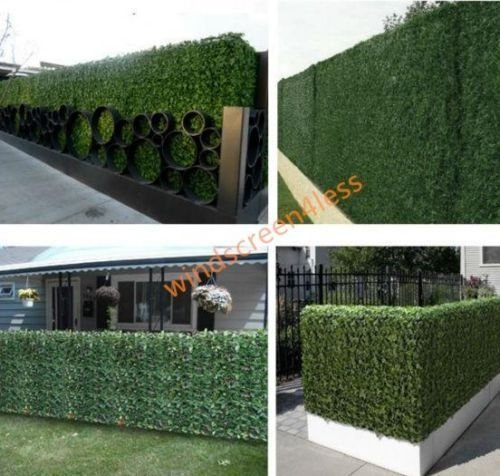 39tall-X1365-Long-Faux-Artificial-Ivy-Leaf-Privacy-Fence-Screen-Decoration-Panels-Windscreen-Patio-Yard-Lawn-0