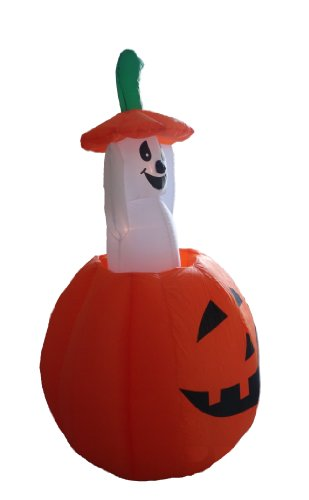 4-Foot-Animated-Halloween-Inflatable-Pumpkin-and-Ghost-Yard-Garden-Decoration-0-1