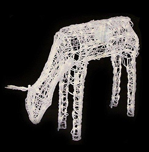 48-Animated-Crystal-3-D-Feeding-Doe-Reindeer-Lighted-Christmas-Yard-Art-Decoration-Clear-Lights-0