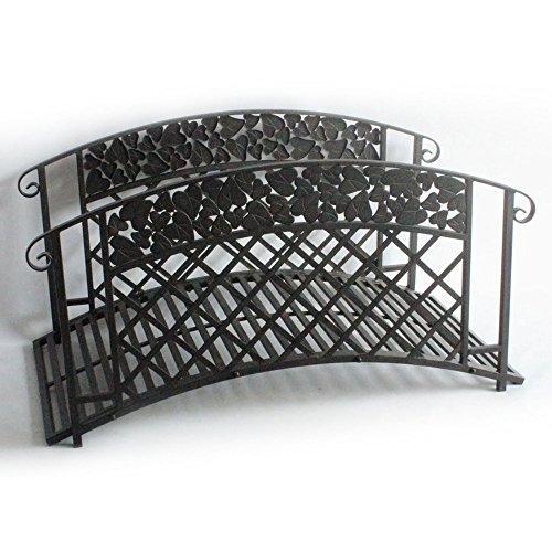 4D-Concepts-Ivy-League-4-ft-Metal-Garden-Bridge-0