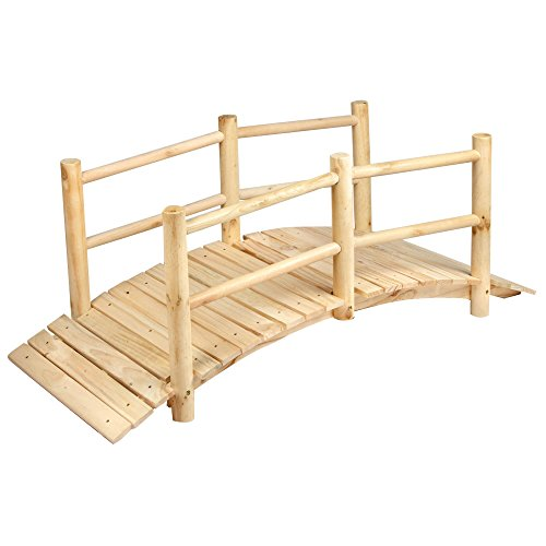 5-Foot-Eucalyptus-Wood-Bridge-Wood-Wooden-0