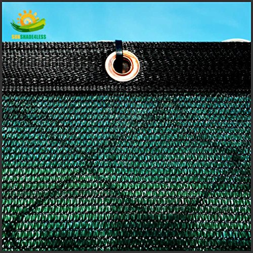 5-Tall-Green-Fence-Privacy-Screen-Taped-with-Brass-Grommets-Mesh-Fabric-Custom-Size-0-0