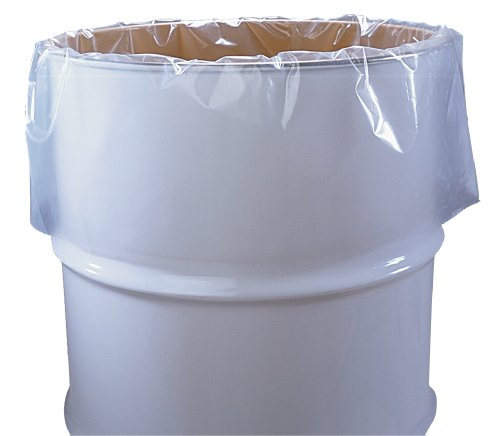 55-Gallon-Clear-Plastic-Drum-Liners-Food-Grade-38-x-63-3-Mil-Roll-of-50-0