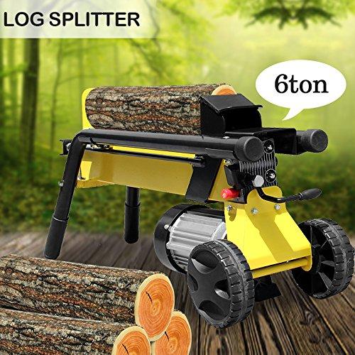 6-Tonne-1500W-Log-Splitter-Hydraulic-Firewood-Processor-Garden-Cutting-Tool-0