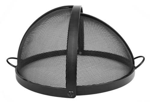 60-Welded-HYBRID-Steel-Pivot-Round-Fire-Pit-Safety-Screen-0