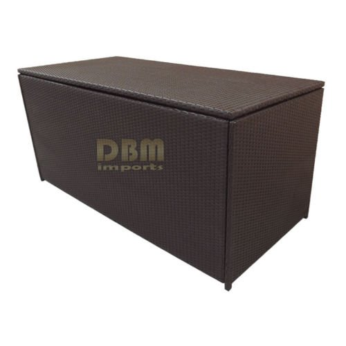64-LARGE-Wicker-Patio-Deck-Pool-Storage-Box-Chest-Trunk-Cushion-Pillow-Toy-Bin-Poolside-Storing-0