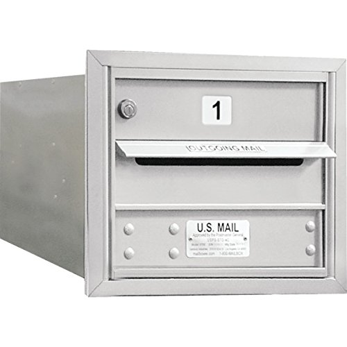 692797-Horizontal-4C-Mailbox-1-Door-Silver-3-Door-High-0