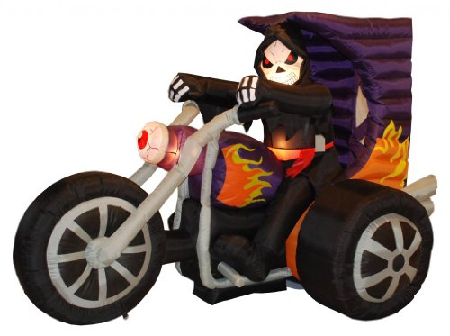 7-Foot-Long-Halloween-Inflatable-Grim-Reaper-on-Motorcycle-2013-Yard-Decoration-0