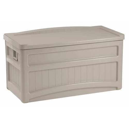73-Gallon-Deck-Box-w-Seat-Light-Taupe-w-Handles-Wheels-Portable-Storage-0
