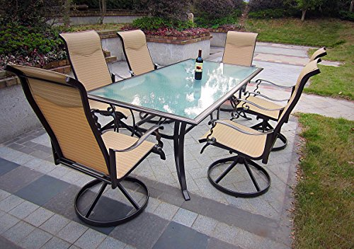 7pc-Cast-Aluminum-Swivel-Sling-Patio-Dining-Set-with-Umbrella-0