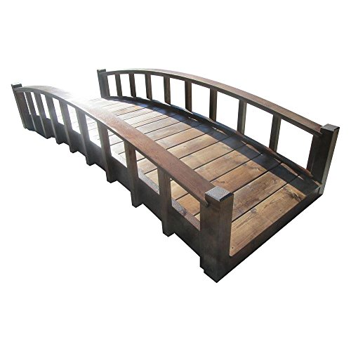 8-ft-Japanese-Wood-Garden-Moon-Bridge-with-Arched-Railings-Treated-0