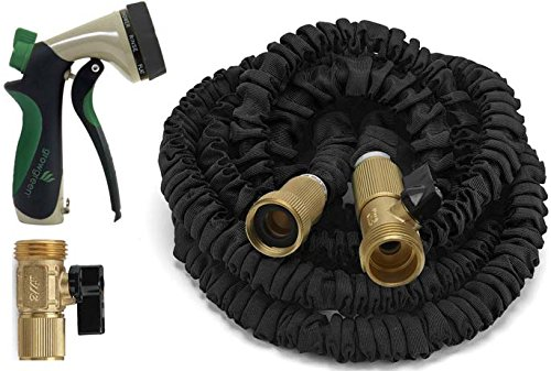 ALL-NEW-2017-Expandable-Garden-Hose-Strongest-Expandable-Hose-With-All-Brass-Connectors8-Pattern-Spray-Nozzle-And-High-Pressure-Resistance-Latex-0