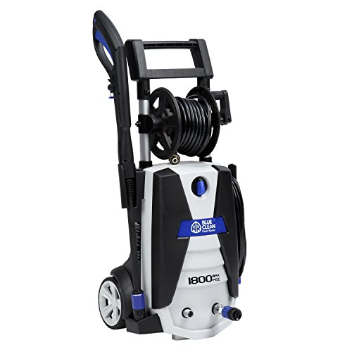 AR-Blue-Clean-1800-psi-Electric-Pressure-Washer-with-Spray-Gun-2-Different-Nozzle-Wands-and-20-Hose-0