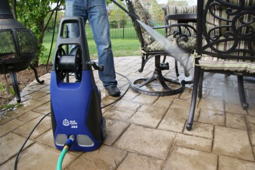 AR-Blue-Clean-AR383-1900-PSI-15-GPM-11-Amp-Electric-Pressure-Washer-With-Hose-Reel-0-0