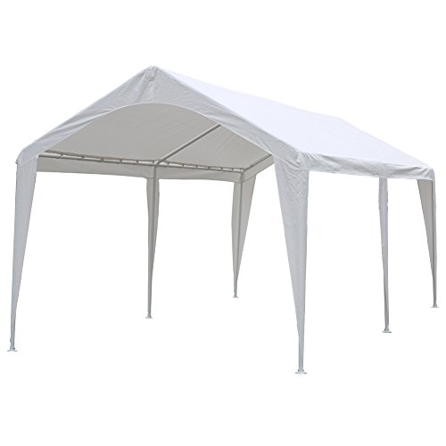 Abba-Patio-10-x-20-Feet-Domain-Outdoor-Carport-with-6-Steel-Legs-0