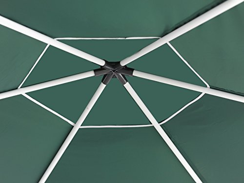 Abba Patio 13 D X 11 W Outdoor Hexagonal Gazebo With