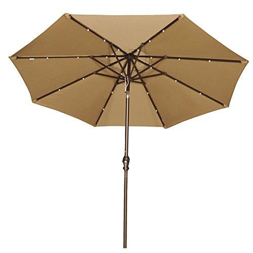 Solar Patio Umbrella Replacement Parts